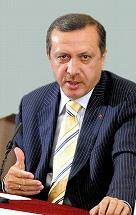 写真・図版 : トルコのエルドアン首相=朝日新聞社