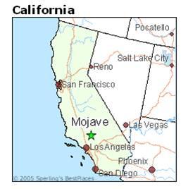 写真・図版 : カリフォルニア州モハビ(Mojave)