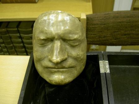 写真・図版 : アイザック・ニュートンのデスマスク
