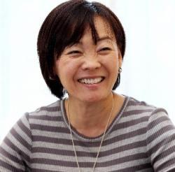 朝日新聞のインタビューに答える安倍昭恵さん=2013年5月17日、首相公邸