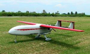 無人機のB2=フジ・インバック社提供