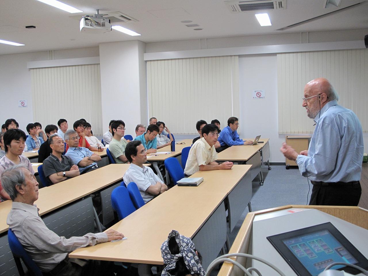 南部コロキウム=大阪・豊中市の大阪大学理学部で