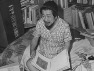 サトウ・ハチロー=1959年8月、東京の自宅