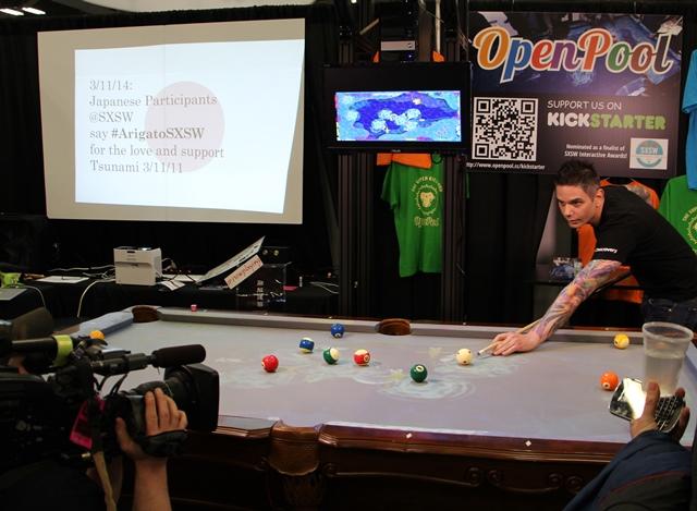 写真・図版 : 1.ハイテクビリヤードOpen Pool