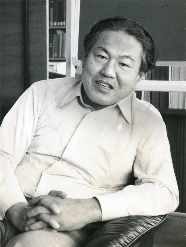 上山春平氏=1981年