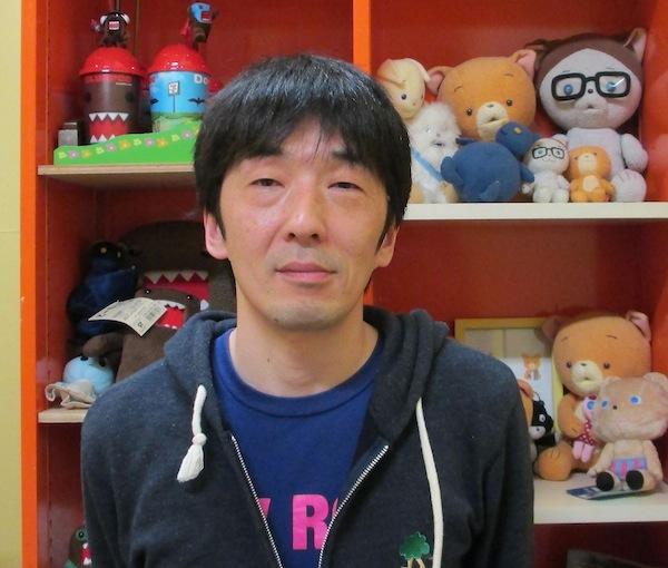 可愛いキャラクターたちの生みの親、合田経郎監督