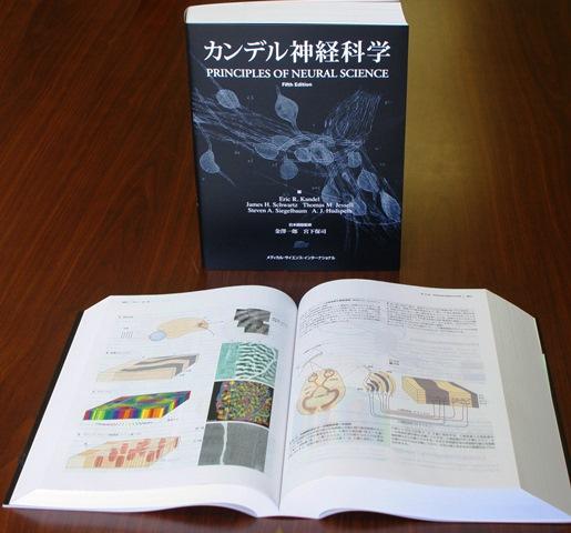写真・図版 : 翻訳された「カンデル神経科学」