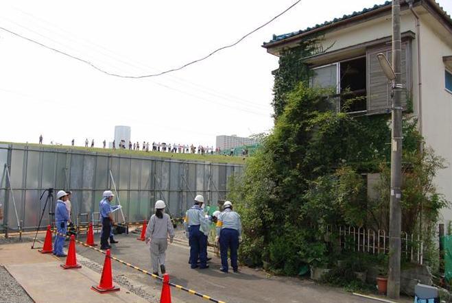 スーパー堤防予定地で強制撤去、東京・江戸川区でいま起きていること