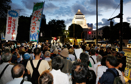 国会周辺でデモをする自由(下)――静穏保持法と自民党政権の変質