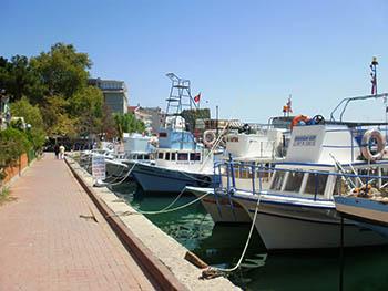 シノップの港