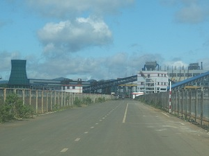 タンライの工場=筆者撮影