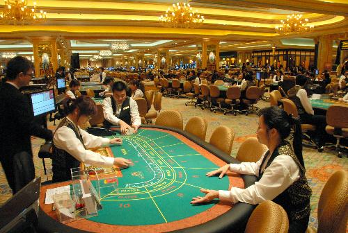 マカオのカジノ。米ラスベガスをはるかにしのぎ、売り上げは世界一=07年