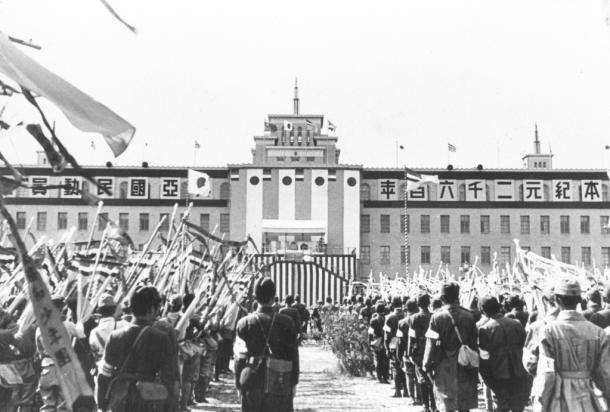 満州、(皇紀)2600年記念の興亜国民動員大会