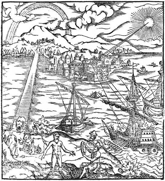 写真・図版 : 1572年にラテン語に翻訳された「光学宝典」の表紙