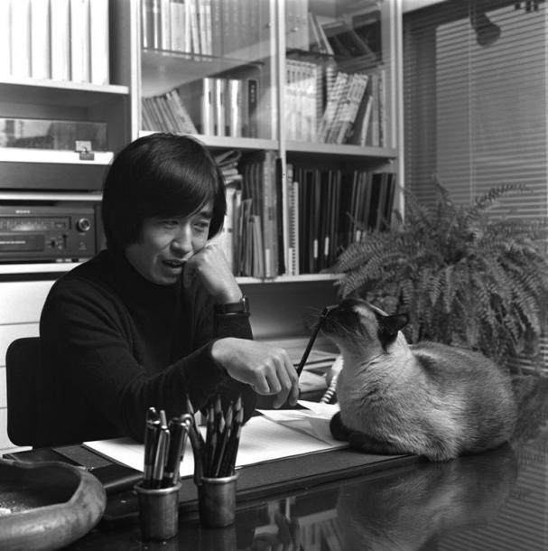 写真・図版 : 庄司薫=1978年