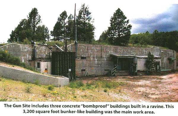 ロスアラモスGun Site at Los Alamos.