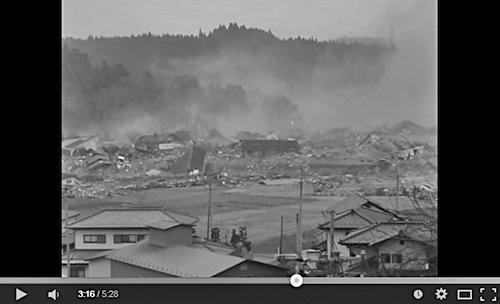 写真・図版 : 図2 ユーチューブに投稿され、1500万回以上再生された宮城県南三陸町の津波の動画