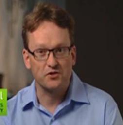 写真・図版 : ストックホルム大学教授のエリック・リンダール氏(米NVIDIA社のHPより)