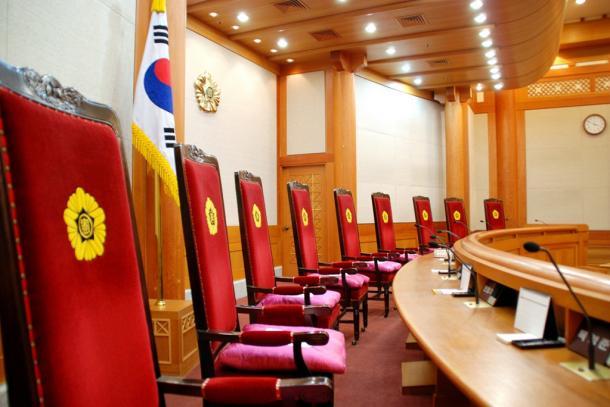 韓国・憲法裁判所の大法廷