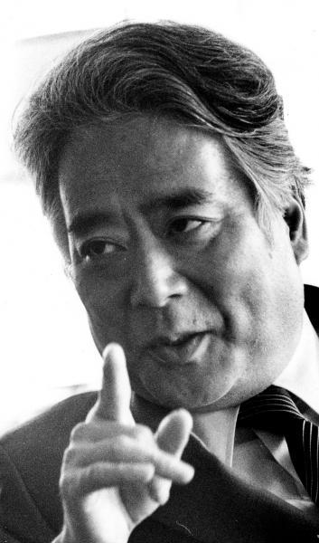 写真・図版 : 平泉渉氏=1983年撮影
