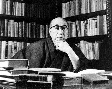 写真・図版 : 江戸川乱歩=1957年