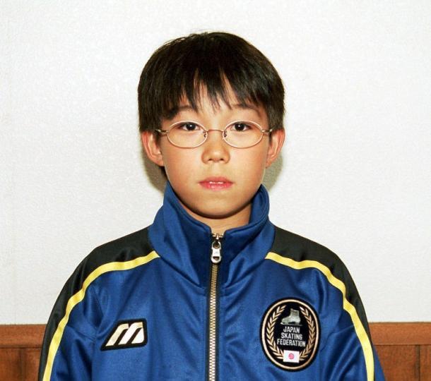 写真・図版 : 2001年、10歳のとき