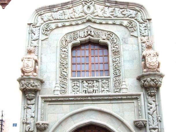 ラス・パルマス市の「コロンブスの家」