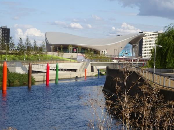 オリンピックでよみがえったリー川周辺の地域