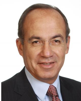 フェリペ・カルデロン経済と気候に関するグローバル委員会委員長、前メキシコ大統領