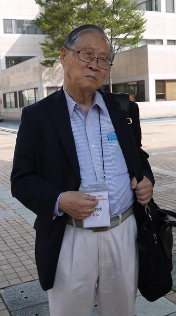 写真・図版 : パク・チャンモPUST名誉総長