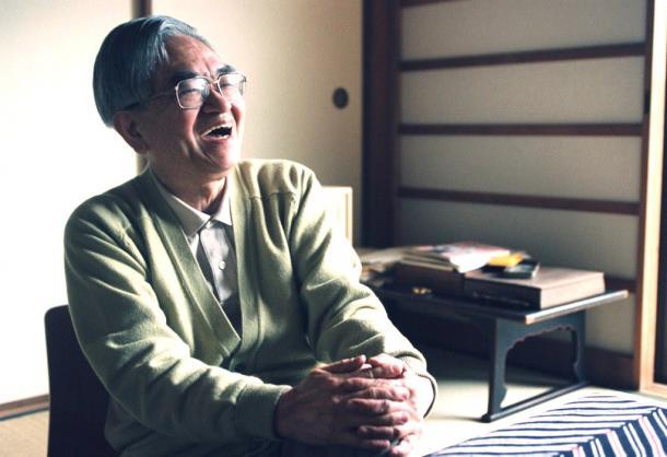 鶴見俊輔さん 1995年