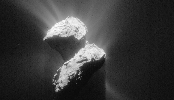 写真・図版:彗星探査のクライマックス