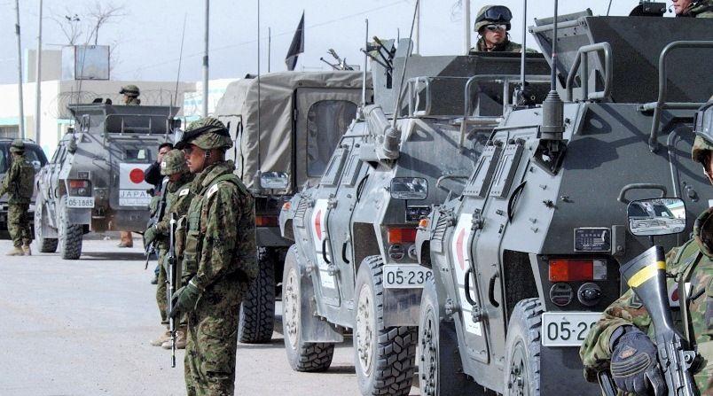 写真・図版:自衛隊員の戦地派遣ストレスと安保法制
