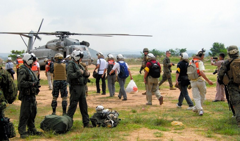 写真・図版:在外邦人の救出作戦を作れ