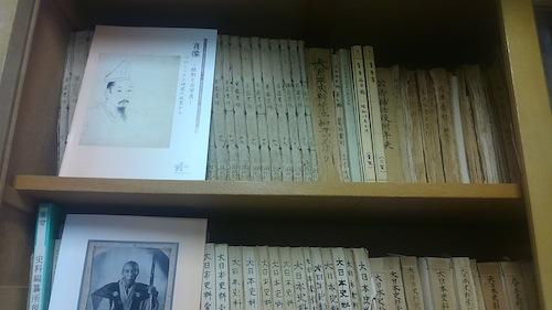 和綴じ本は『大日本史料』作成のための資料。戦前に作られたものも多い