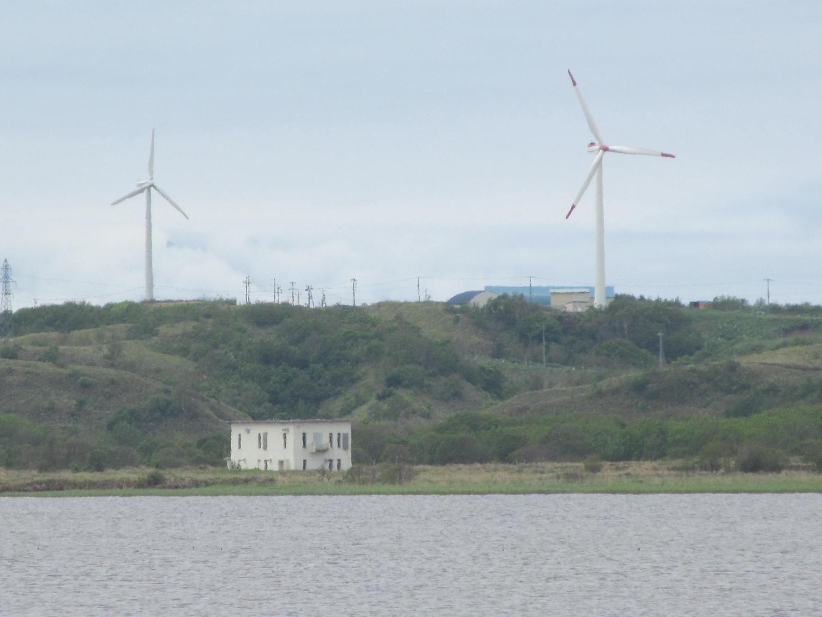 北海道・稚内にある風車