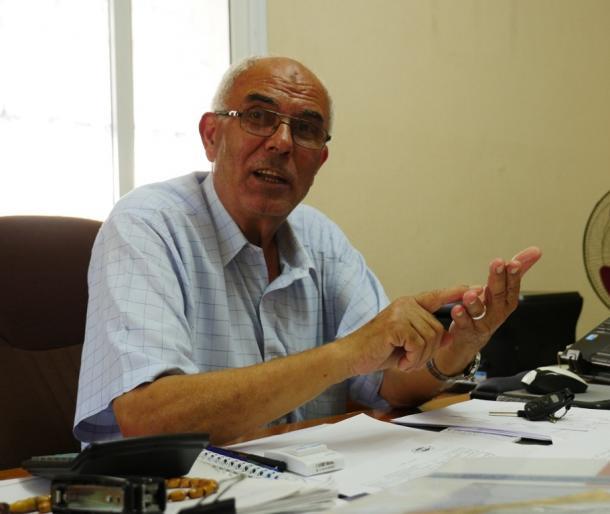 ガザの再建についてのパレスチナ自治政府のリポートの監修をしたアブシャフラさん