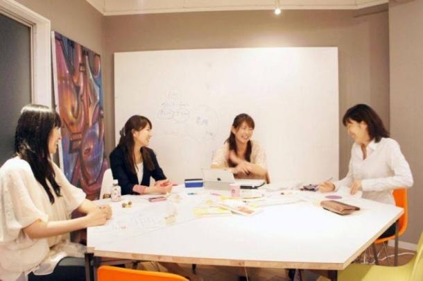 「妊きゃりプロジェクト」のグループワーク=渡辺さちこさん提供