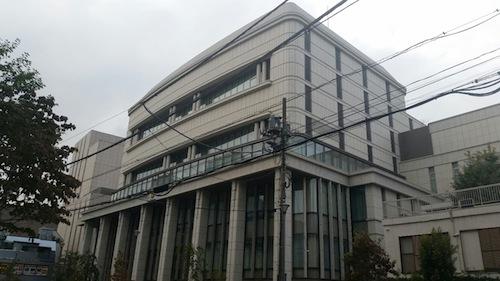 創価学会総本部の施設=東京都新宿区信濃町