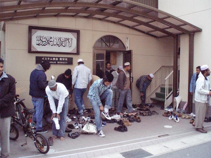 愛知県安城市で多くのインドネシア人が通うモスク=2007年3月、撮影・筆者