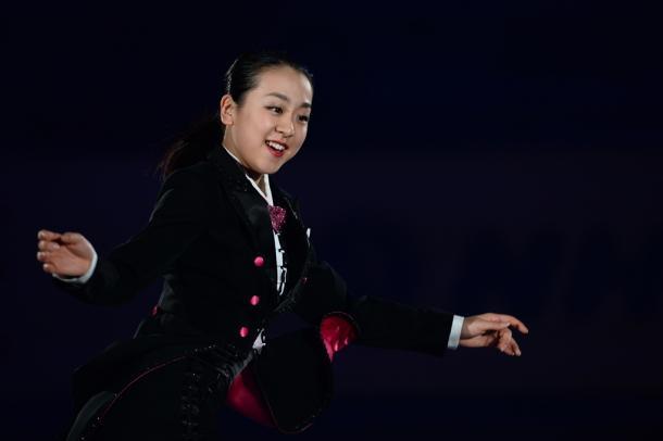 写真・図版 : NHK杯のエキシビションで