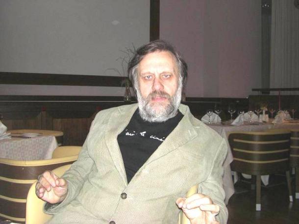 スロベニアの哲学者スラヴォイ・ジジェク氏