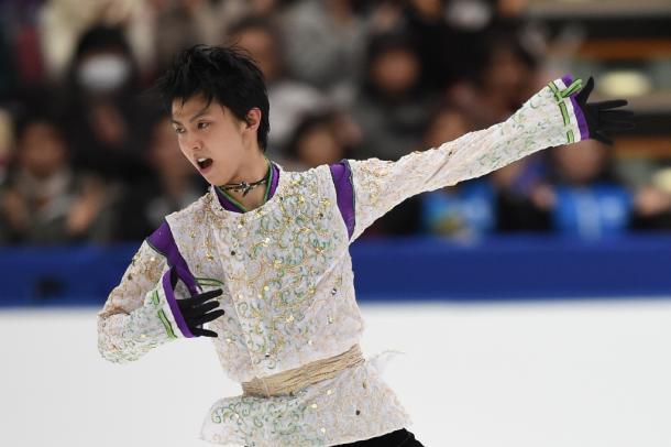 写真・図版 : NHK杯のフリーで=2015年11月28日、長野・ビッグハット