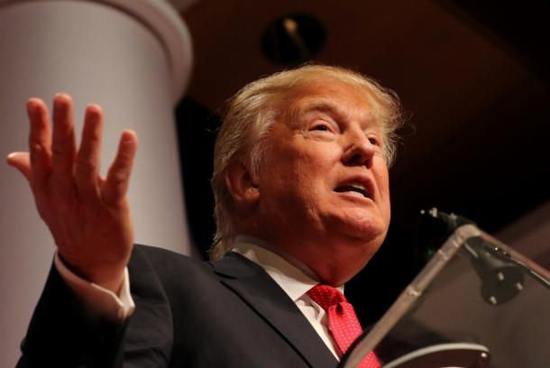 写真・図版 : 大統領選の最大の「波乱要因」、ドナルド・トランプ氏