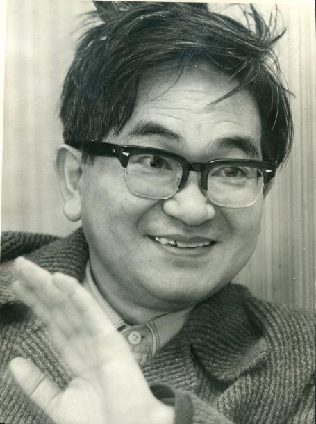 鶴見俊輔さん=1975年