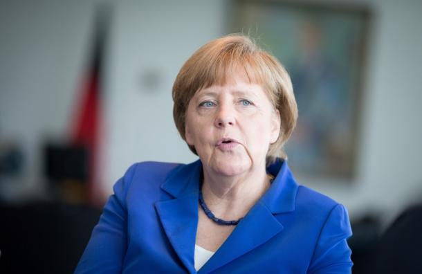写真・図版 : ドイツのメルケル首相=AP