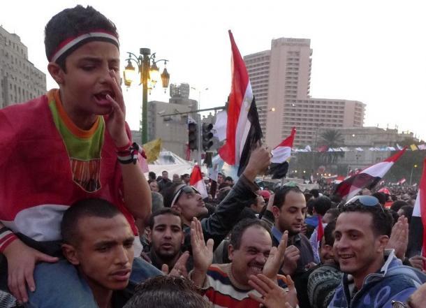 エジプト革命、若者たちの反乱