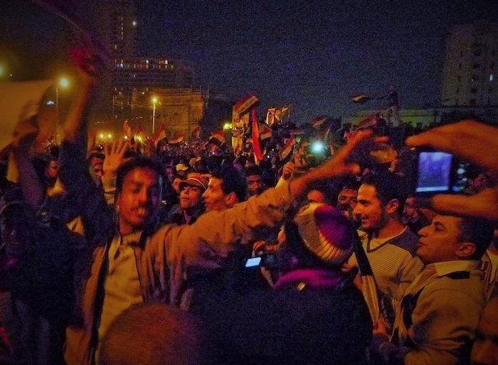 エジプト革命、タハリール広場の戦い