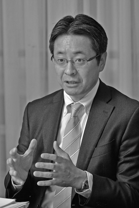 森谷誠市郎・NHK人事局副部長(吉永考宏撮影)