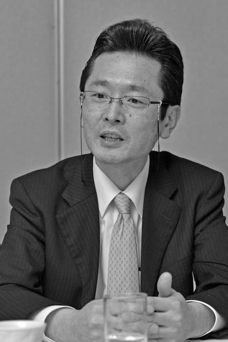佐藤幹・中日新聞社管理局人事部部次長(吉永考宏撮影)